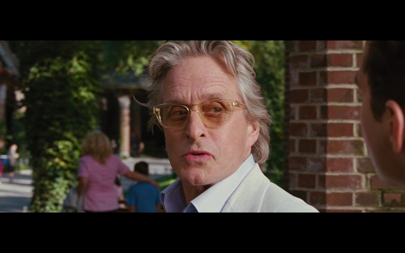 9029d49f25 Barton Perreira Eyeglasses Worn by Michael Douglas (Gordon Gekko) in Wall  Street  Money Never Sleeps (2010)