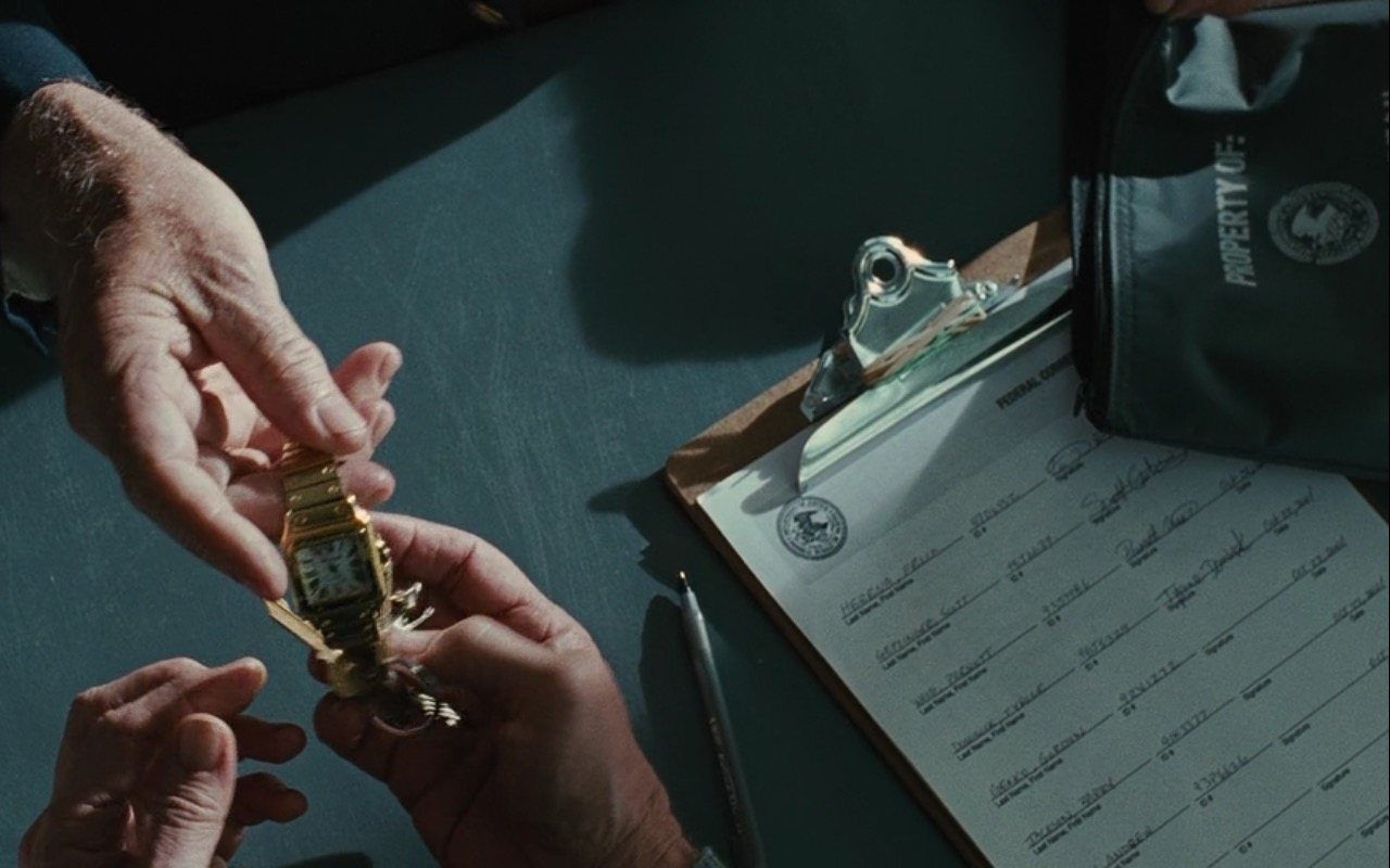 Gordon Gekko Cartier Panthere Watch – Wall Street: Money Never Sleeps (2010) Movie Product Placement
