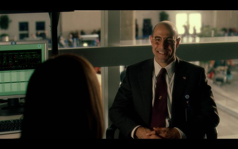HP Monitor – The Terminal (2004) Movie Product Placement
