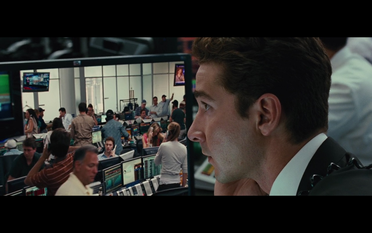 HP Monitors - Wall Street: Money Never Sleeps (2010) Movie Product Placement