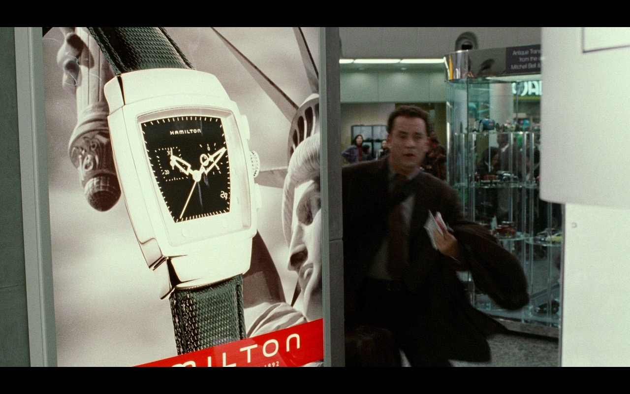 Hamilton Watches – The Terminal (2004) Movie Product Placement