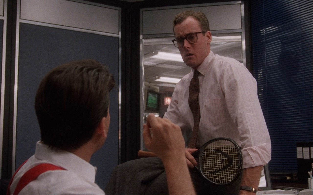 Head Tennis Racquet – Wall Street (1987) Movie Product Placement