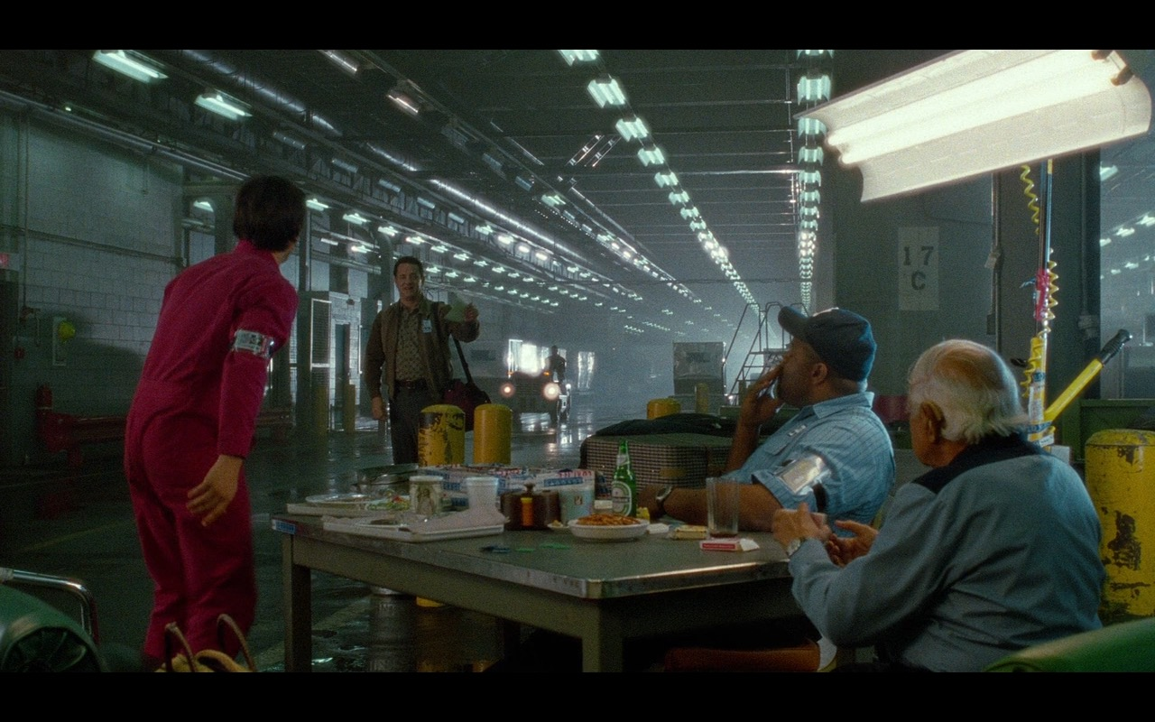 Heineken Beer – The Terminal (2004) Movie Product Placement