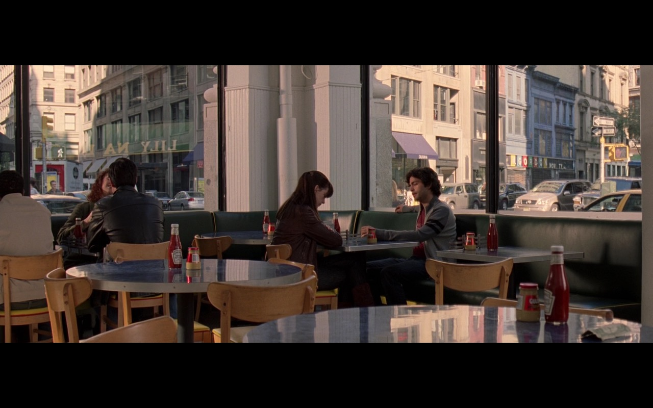 Heinz Tomato Ketchup - The Devil Wears Prada (2006) Movie Product Placement