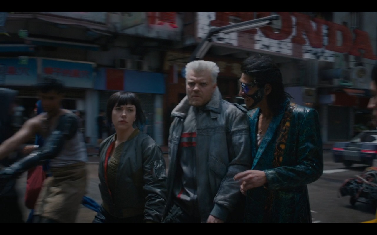Honda - Ghost in the Shell (2017) Movie Product Placement