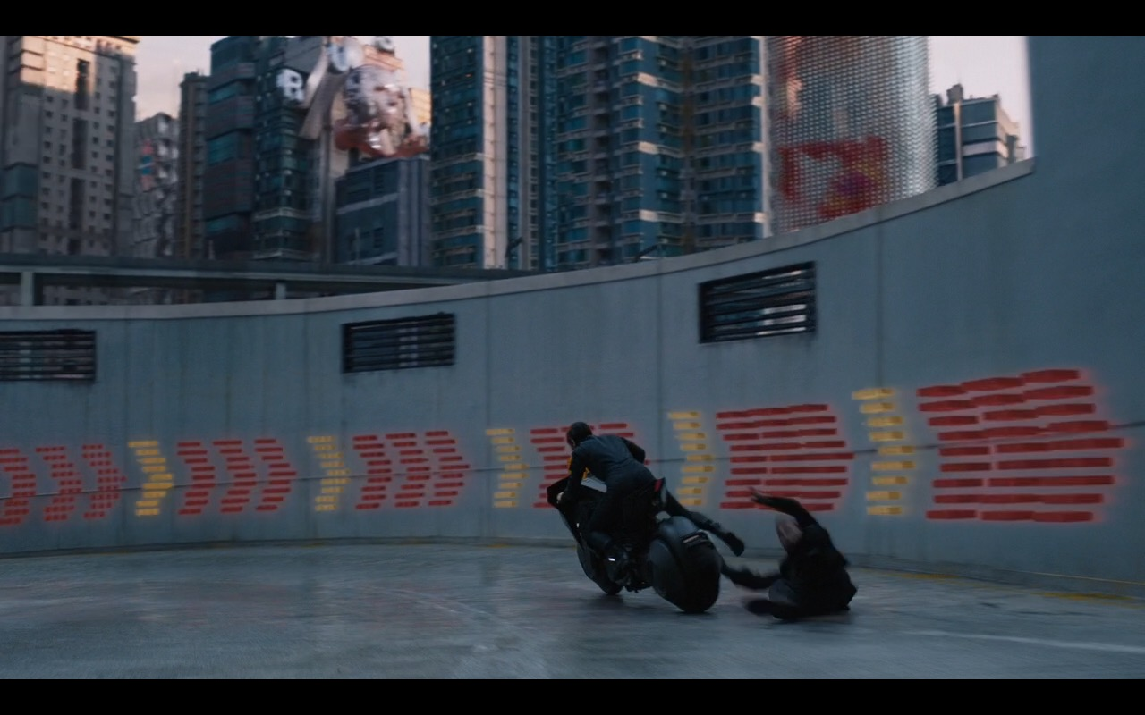 Honda Motorcycle Ghost In The Shell 2017 Movie