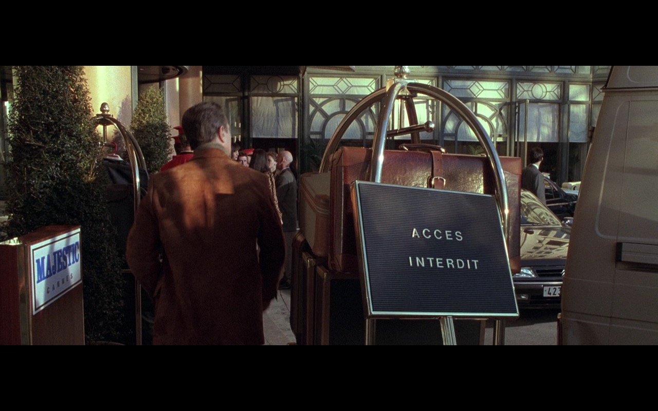 Hotel Barrière Le Majestic Cannes – Ronin (1998) Movie Product Placement