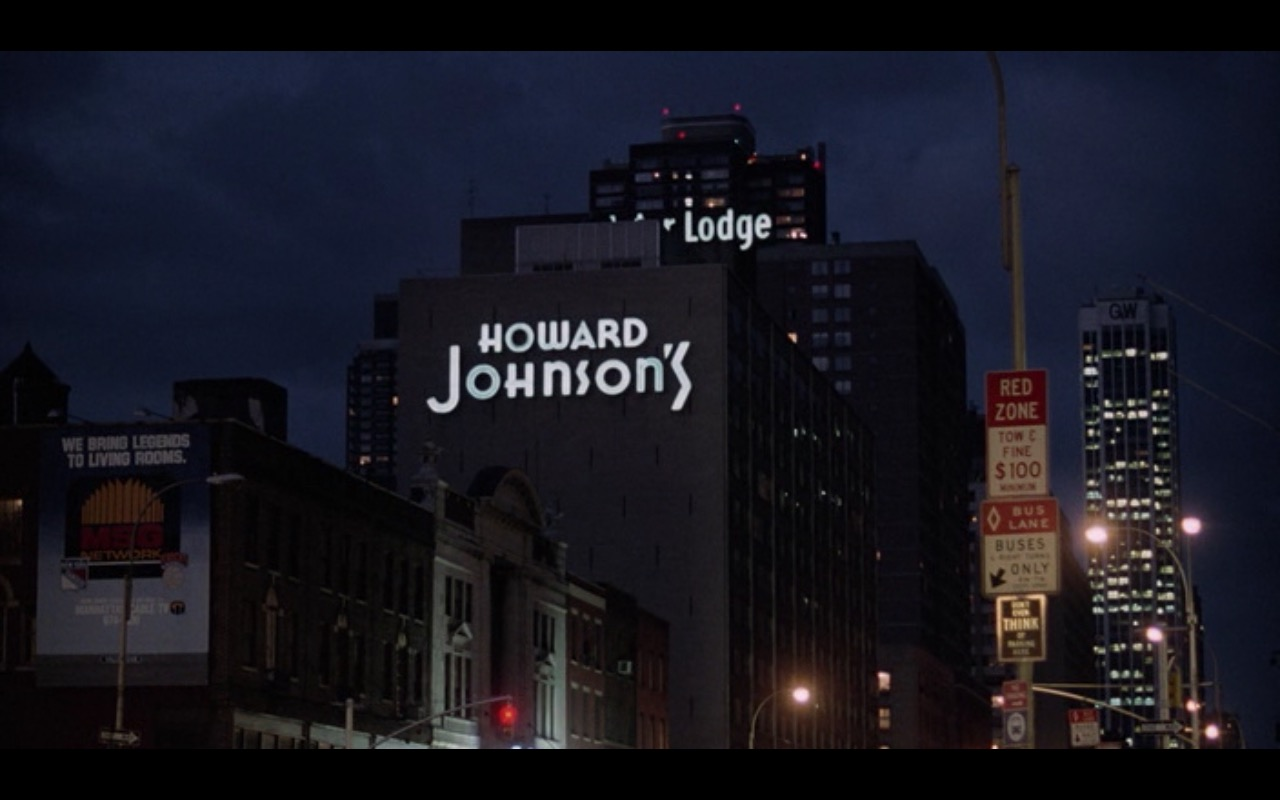 Howard Johnson's And MSG Network – Moscow on the Hudson (1984) Movie Product Placement