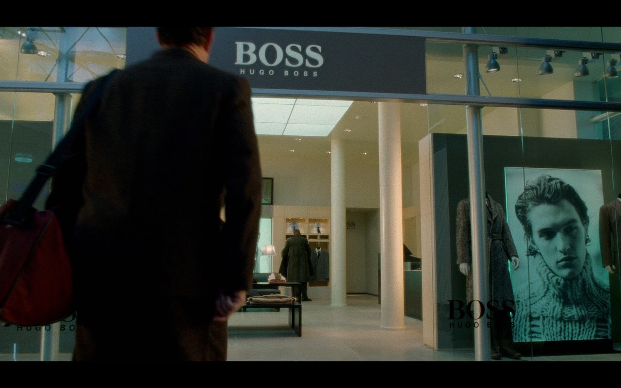 Hugo Boss – The Terminal (2004) Movie Product Placement