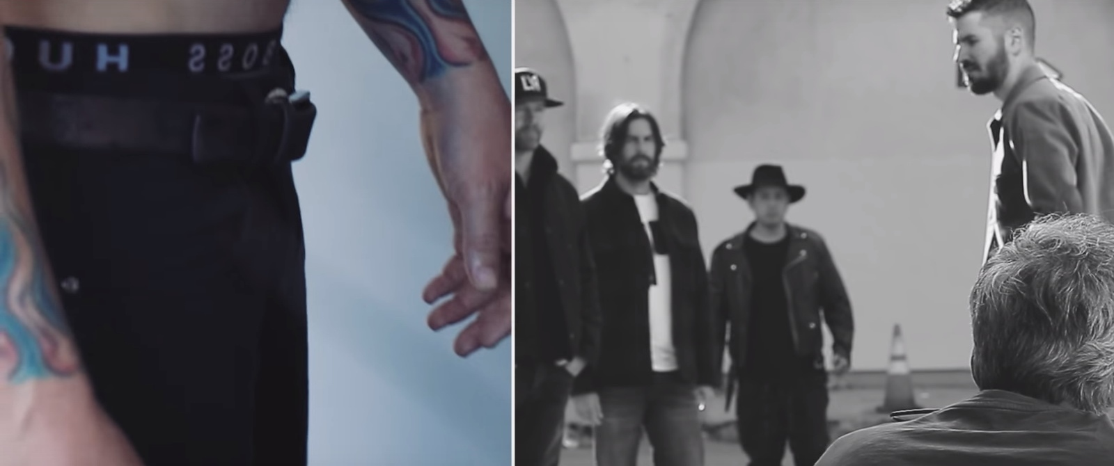 Hugo Boss Underwear - Linkin Park - Talking To Myself Official Music Video Product Placement