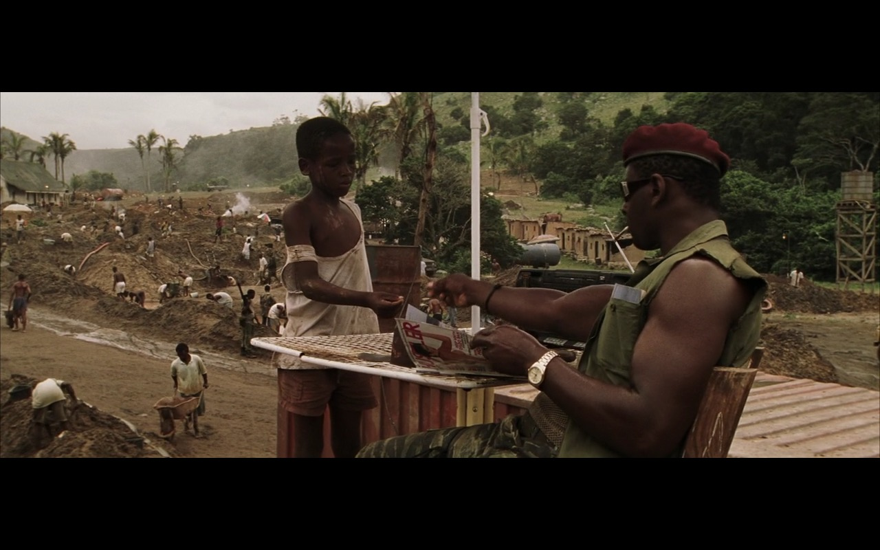 Hustler Magazine - Blood Diamond (2006) Movie Product Placement