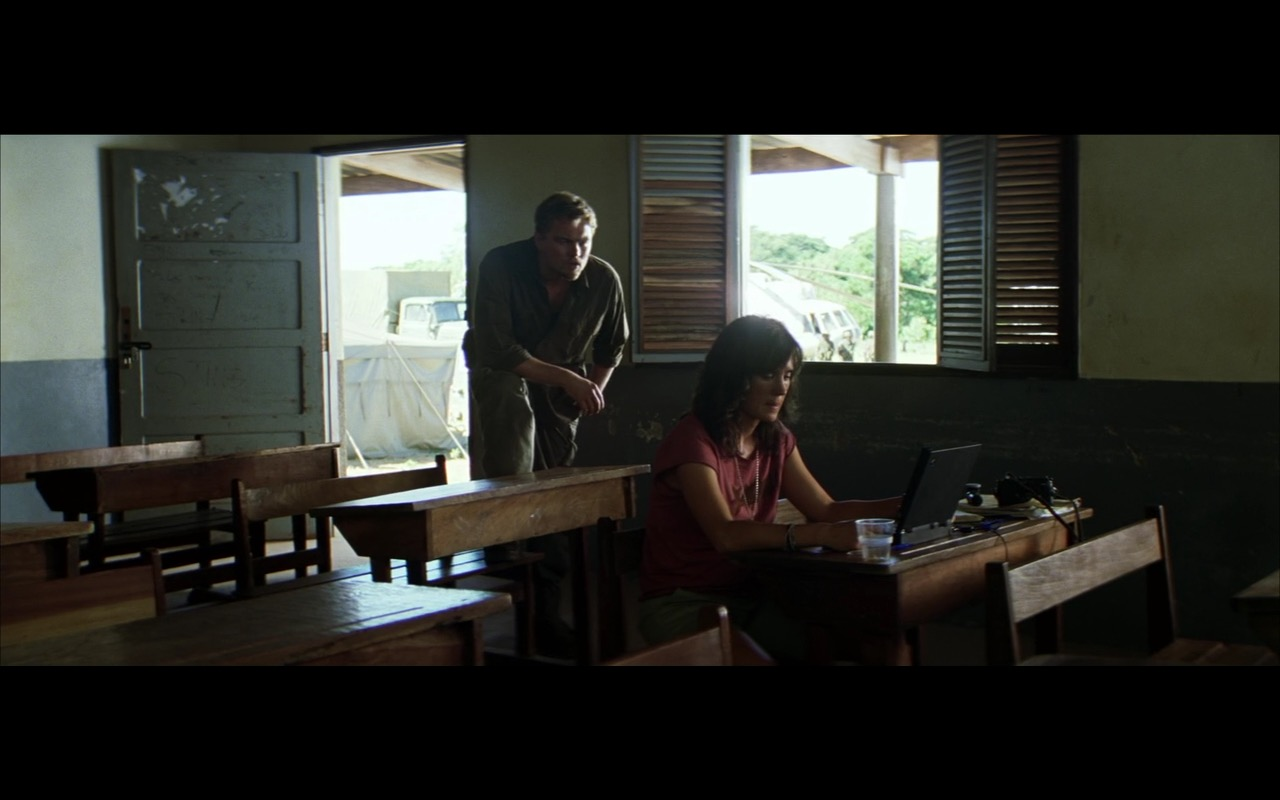 IBM ThinkPad Notebook – Blood Diamond (2006) Movie Product Placement