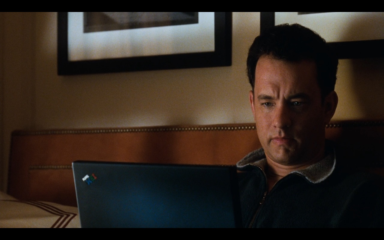 IBM ThinkPad Notebook – You've Got Mail (1998) - Movie Product Placement