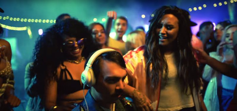 JBL Headphones - Demi Lovato - Sorry Not Sorry Official Music Video Product Placement