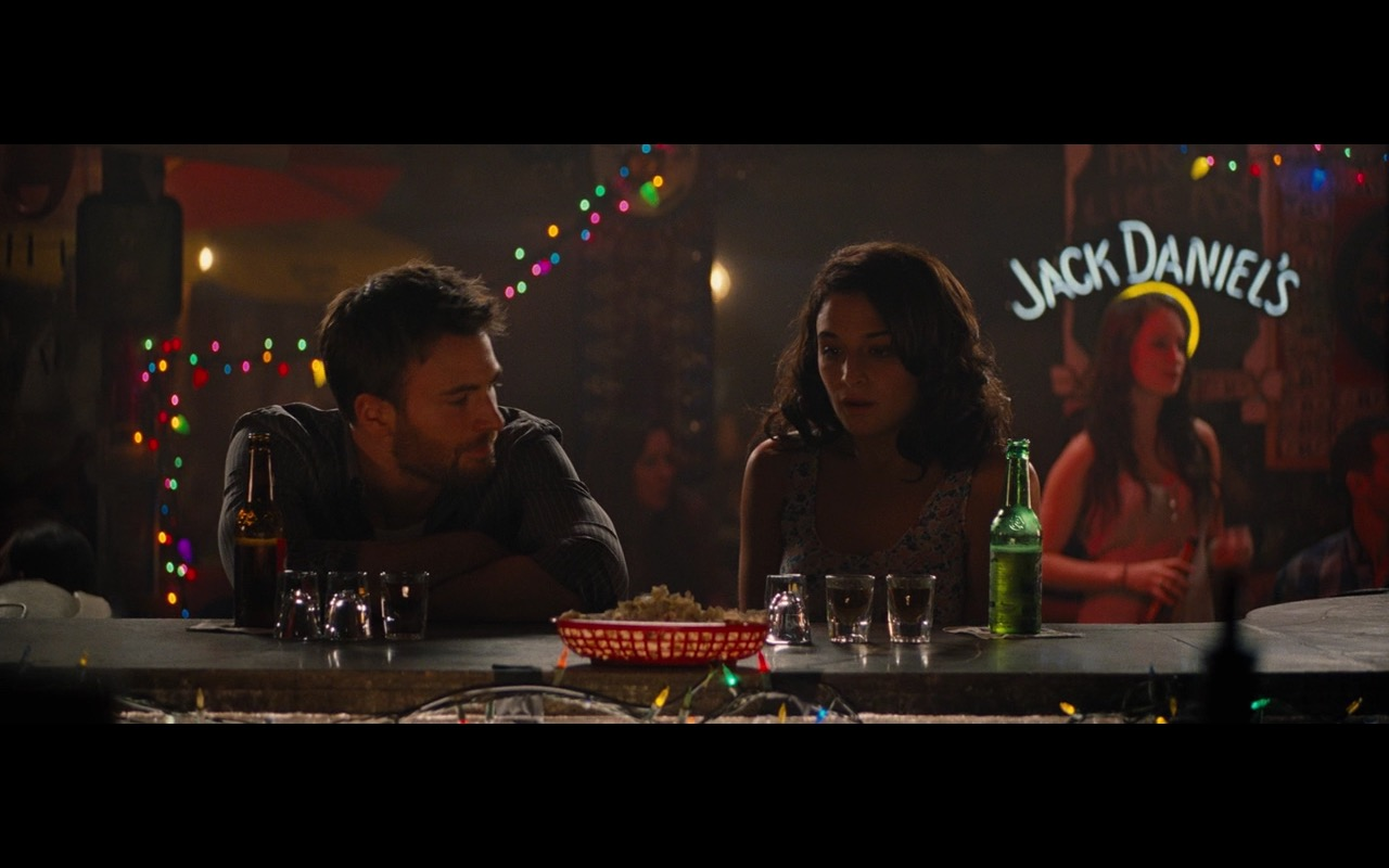 Jack Daniels Neon Sign – Gifted (2017) Movie Product Placement