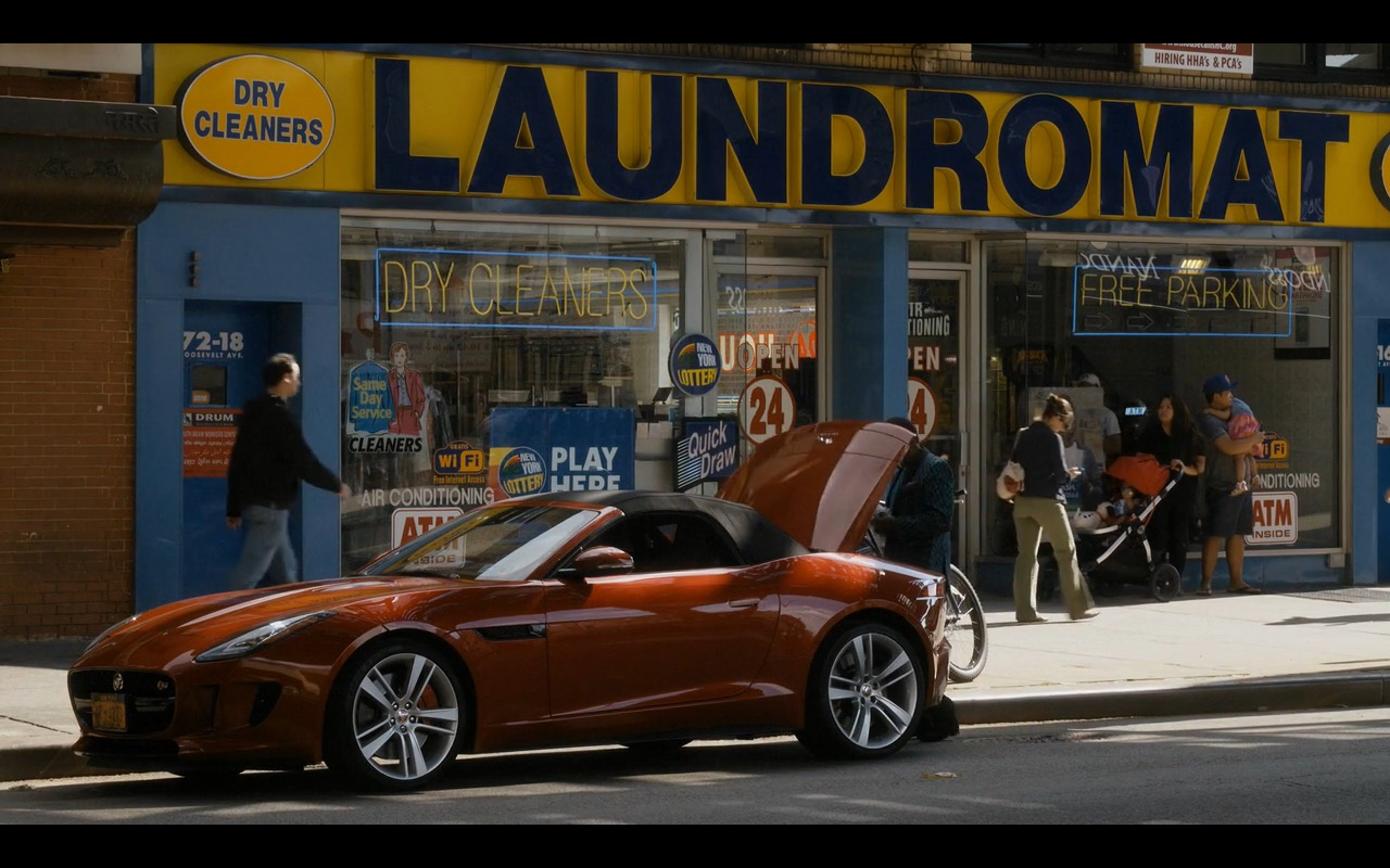 Jaguar F-Type Car - Sneaky Pete TV Show Product Placement