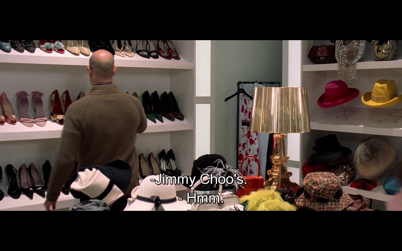 Jimmy Choo – The Devil Wears Prada (2006) Movie Product Placement