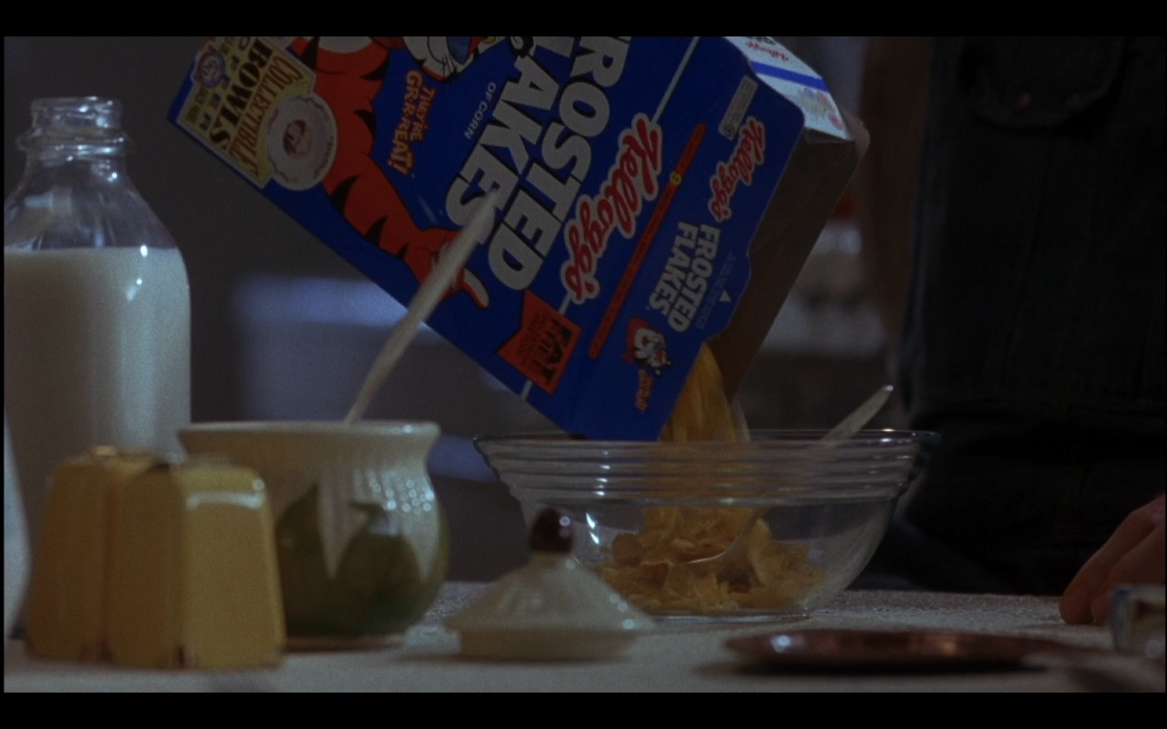 Kellogg's Frosted Flakes or Frosties - Michael (1996) Movie Product Placement