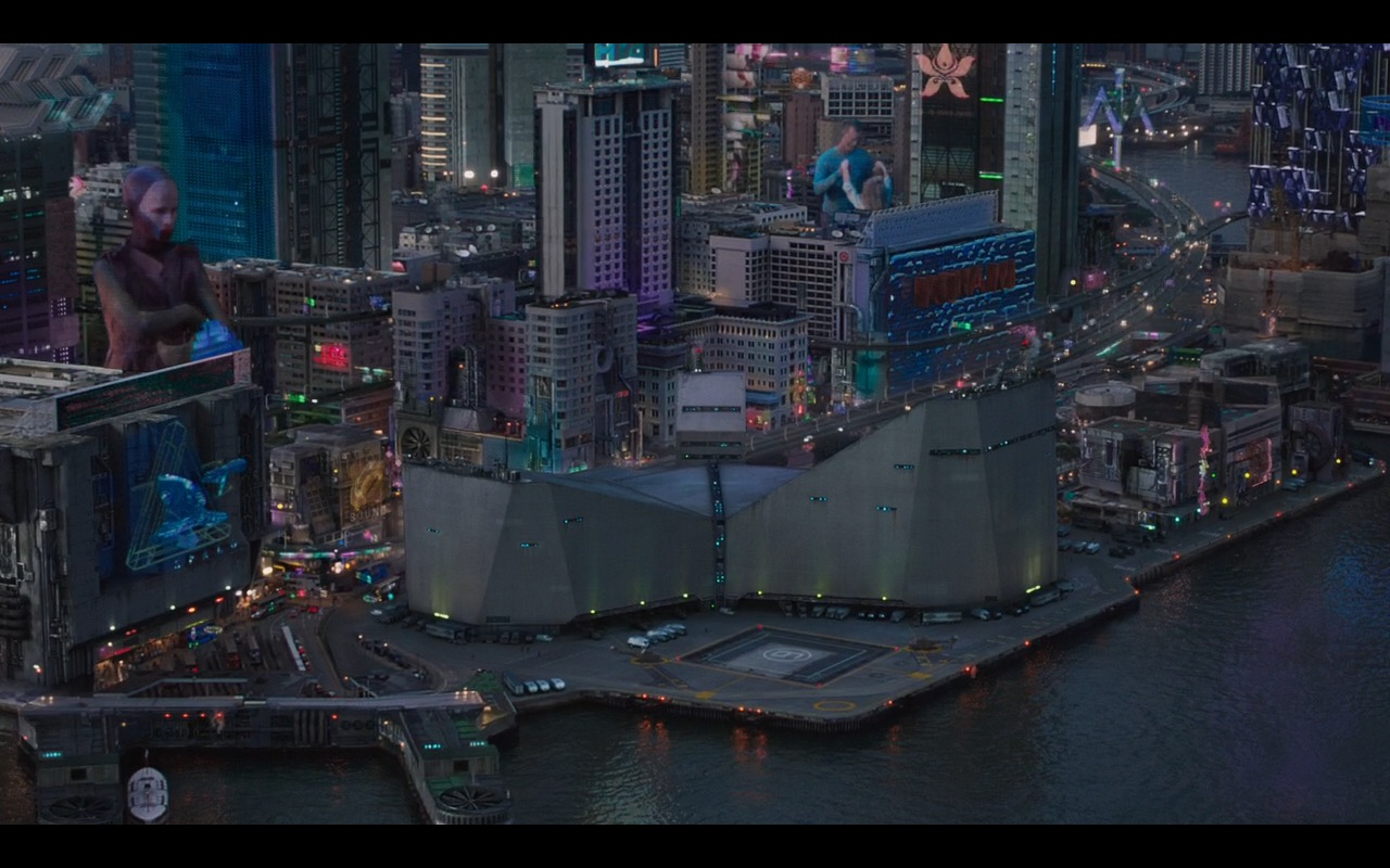 Konami - Ghost in the Shell (2017) Movie Product Placement