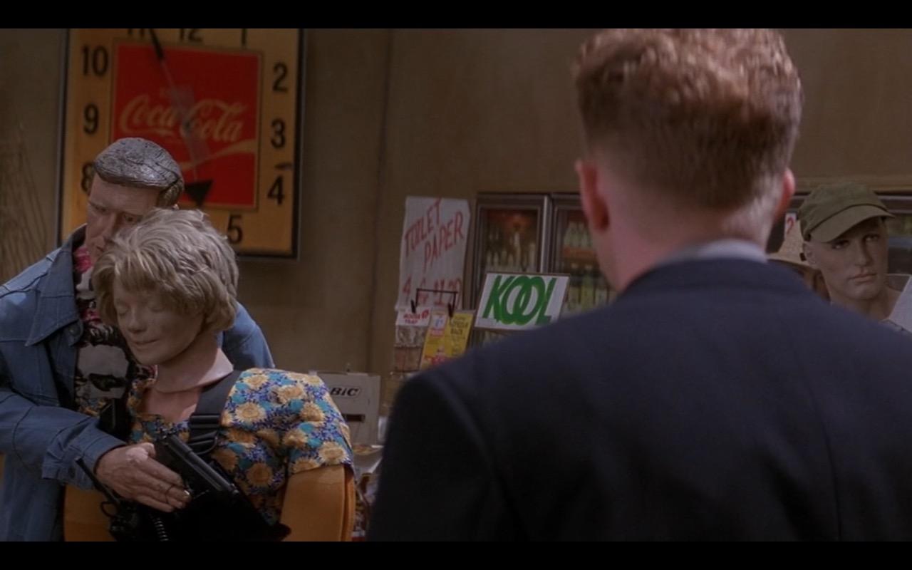 Kool & Coca-Cola Clock – Metro (1997) Movie Product Placement