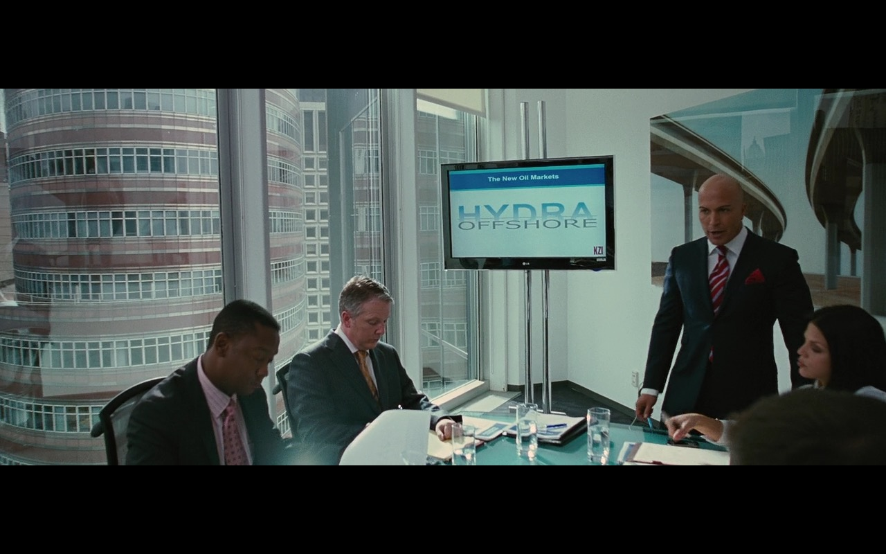 LG TV – Wall Street: Money Never Sleeps (2010) Movie Product Placement