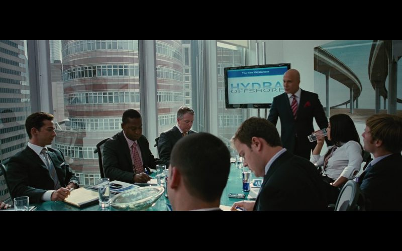 LG TV and Red Bull Energy Drink – Wall Street: Money Never Sleeps (2010) Movie Product Placement