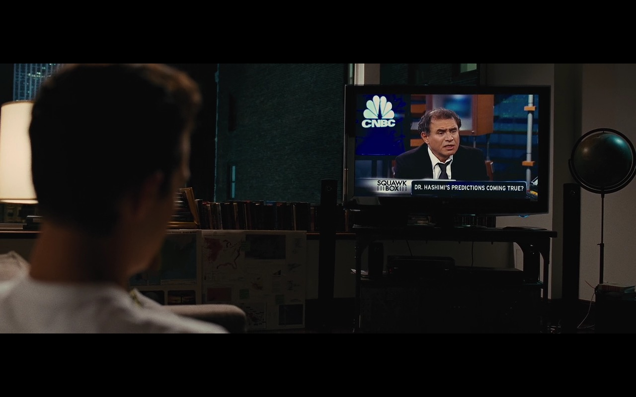 LG TV and Squawk Box – Wall Street: Money Never Sleeps (2010) Movie Product Placement