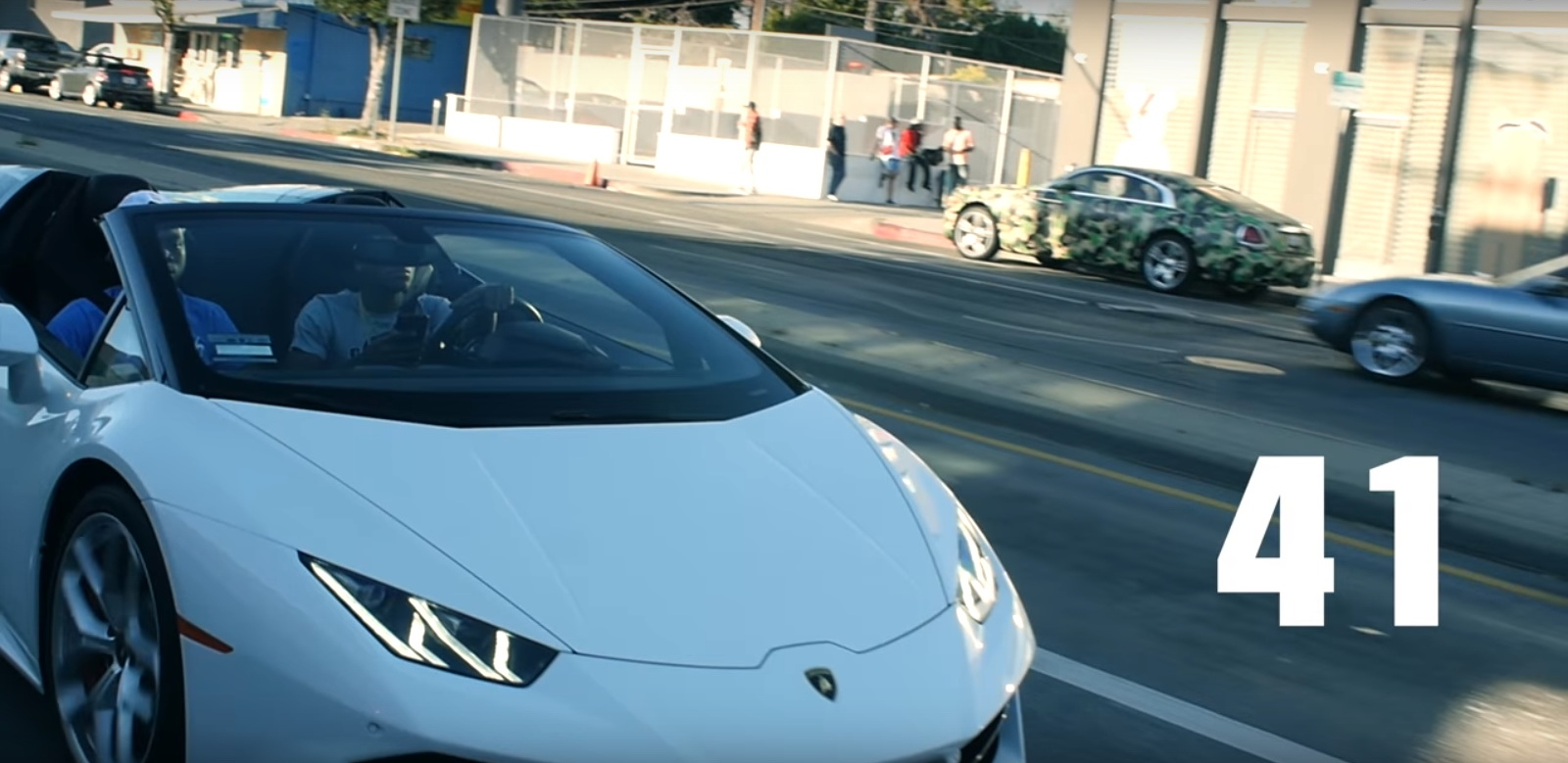 Lamborghini Huracán - 41 - YoungBoy Never Broke Again Official Music Video Product Placement