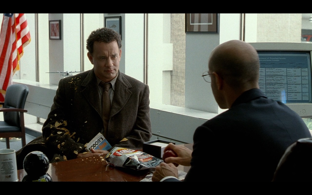 Lay's Chips And Fodor's – The Terminal (2004) Movie Product Placement