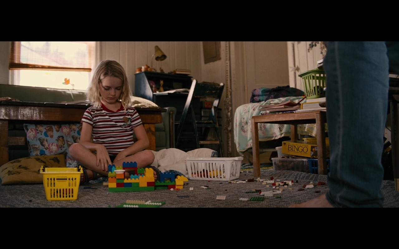 Lego interlocking plastic bricks – Gifted (2017) Movie Product Placement