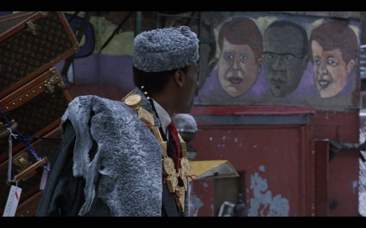 Louis Vuitton Bags – Coming to America (1988) Movie Product Placement