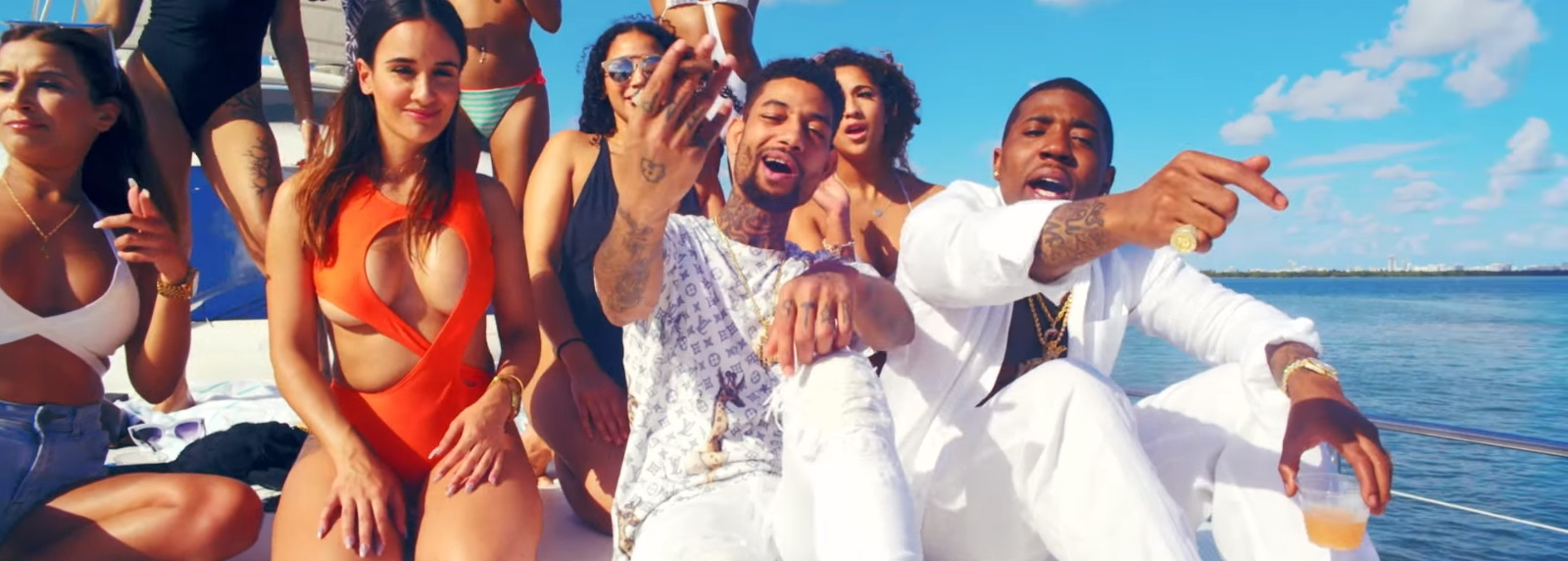 LV Tee - YFN Lucci - Everyday We Lit Official Music Video Product Placement
