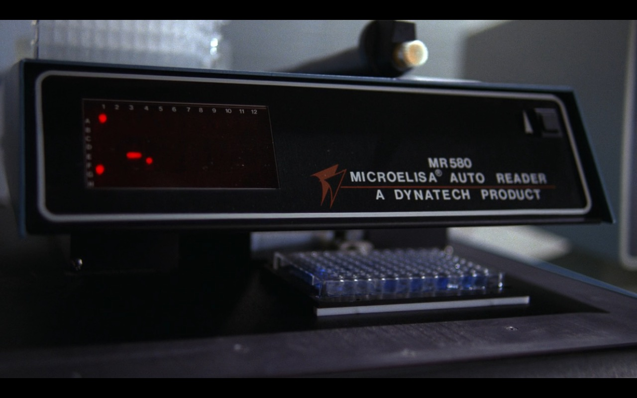 Dynatech MicroElisa Auto Reader MR580 – E.T. the Extra-Terrestrial (1982) Movie Product Placement