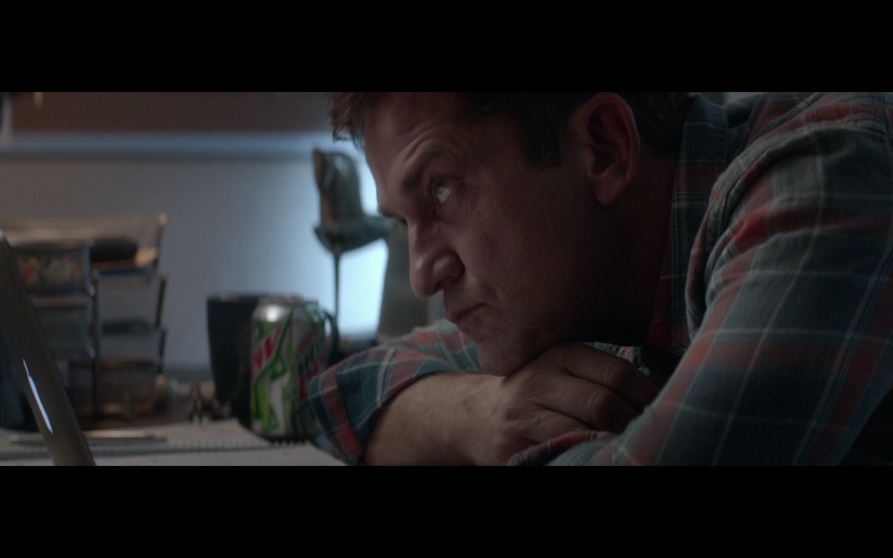 MacBook And Mountain Dew – A Family Man (2016) Movie Product Placement