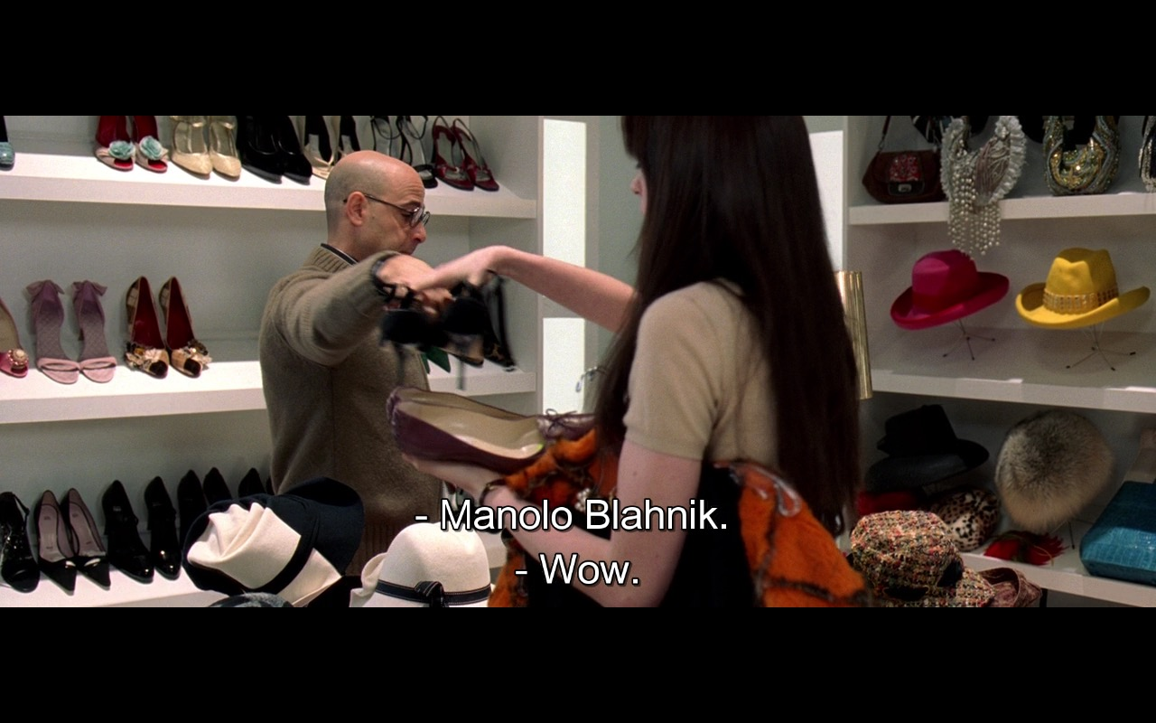 Manolo Blahnik Shoes – The Devil Wears Prada (2006) Movie Product Placement
