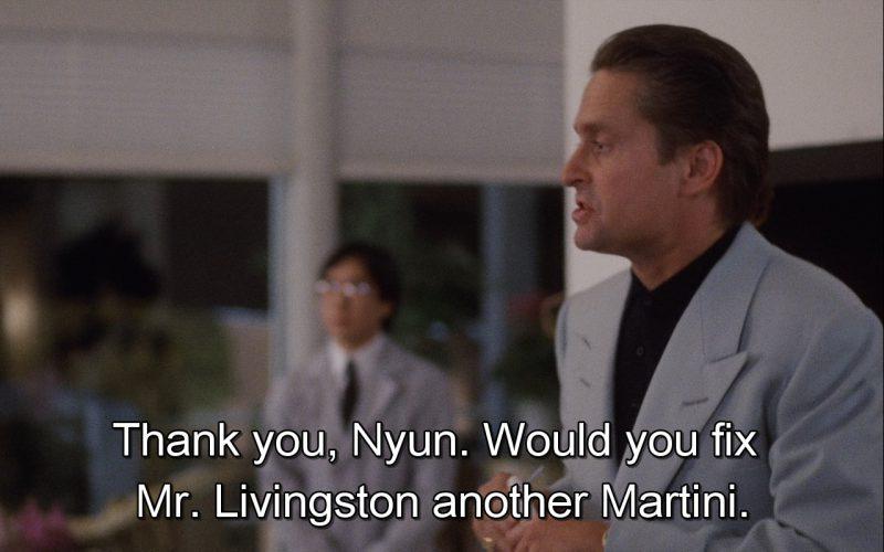 Martini – Wall Street (1987)