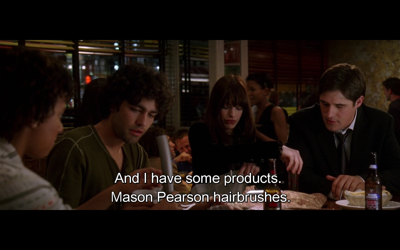 Mason Pearson Hairbrushes – The Devil Wears Prada (2006) Movie Product Placement