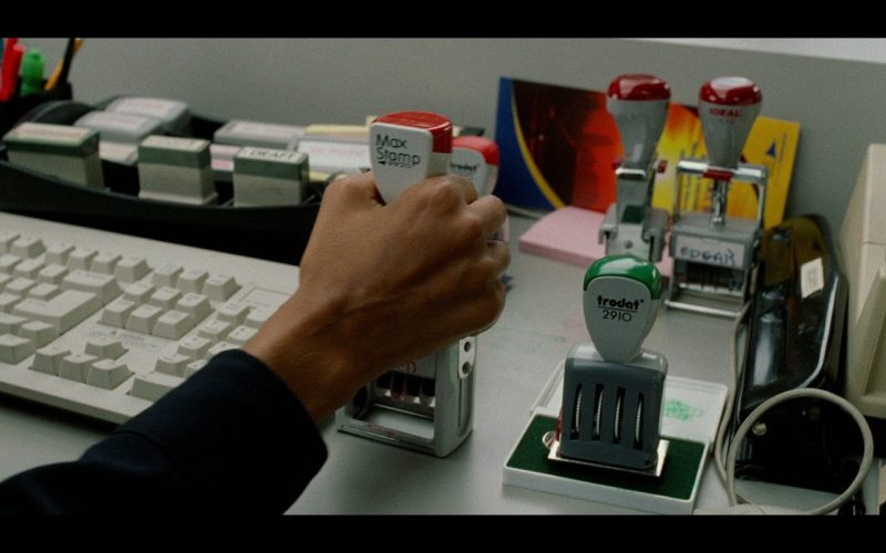 MaxStamp and Trodat Stamps – The Terminal (2004)