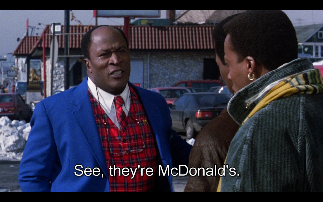 McDonald's – Coming to America (1988) Movie Product Placement