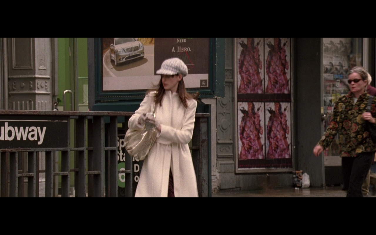 Mercedes-Benz S-Class Outdoor Advertising – The Devil Wears Prada (2006) Movie Product Placement