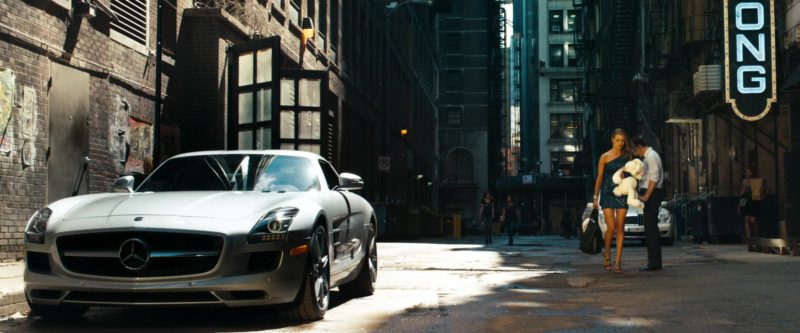 Mercedes-Benz SLS AMG Car in Transformers: Dark of the Moon (2011) - Movie Product Placement