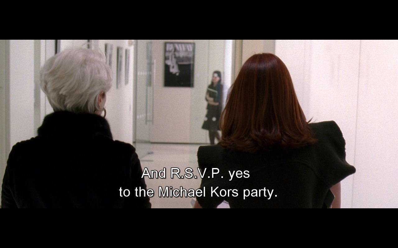 Michael Kors – The Devil Wears Prada (2006) Movie Product Placement