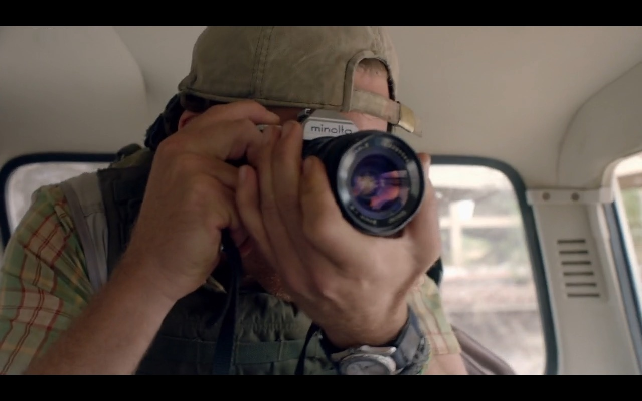 Minolta Photo Camera - The Journey Is the Destination (2016) Movie Product Placement