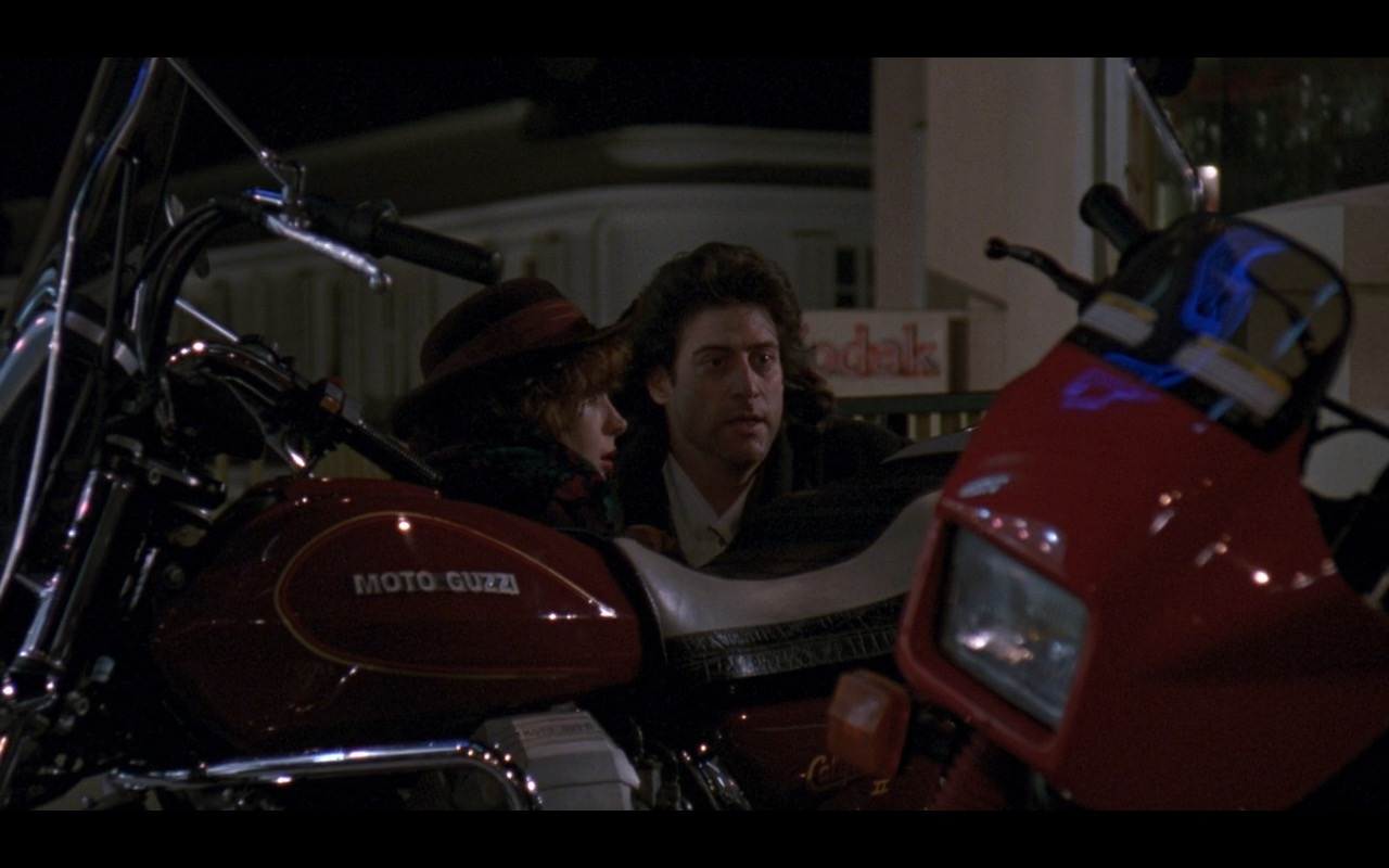 Moto Guzzi And Yamaha TDR Bikes – Once Upon a Crime (1992) Movie Product Placement