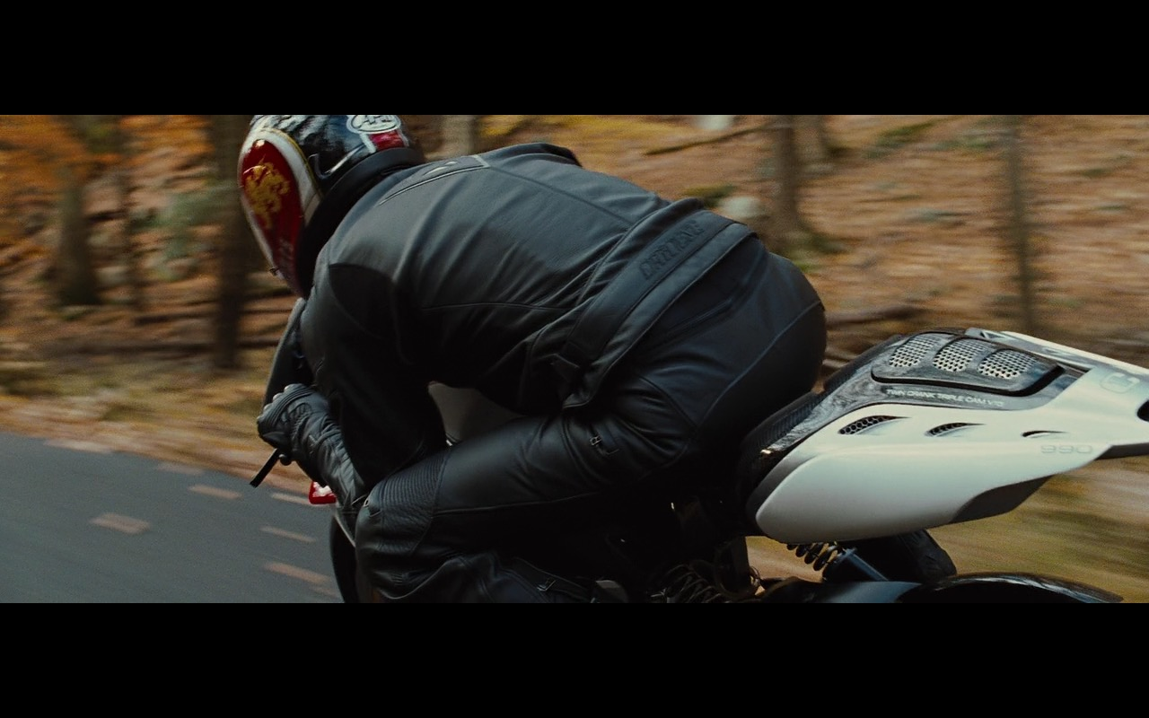 MotoCzysz C1 990, Dainese Moto Gear And Arai Helmet – Wall Street: Money Never Sleeps (2010) Movie Product Placement