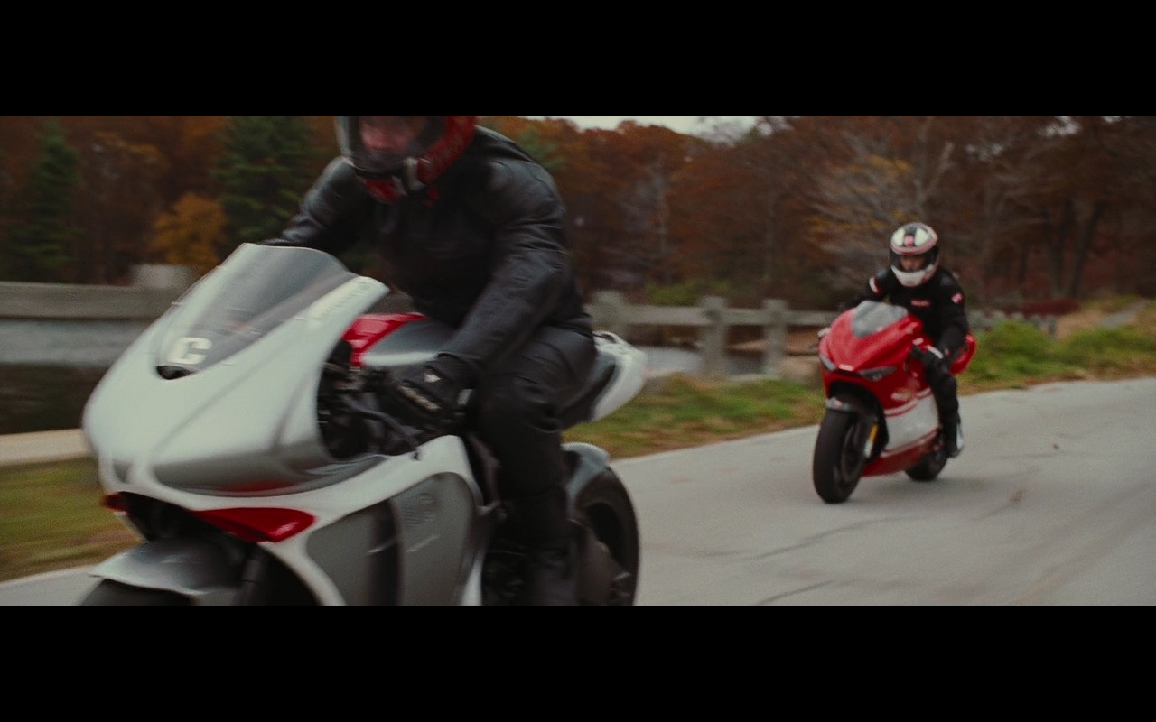 MotoCzysz C1 990 and Ducati Desmosedici RR – Wall Street: Money Never Sleeps (2010) Movie Product Placement