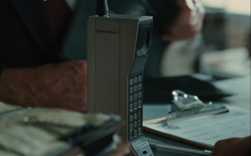 Motorola DynaTAC 8000X Mobile Phone – Wall Street: Money Never Sleeps (2010) Movie Product Placement