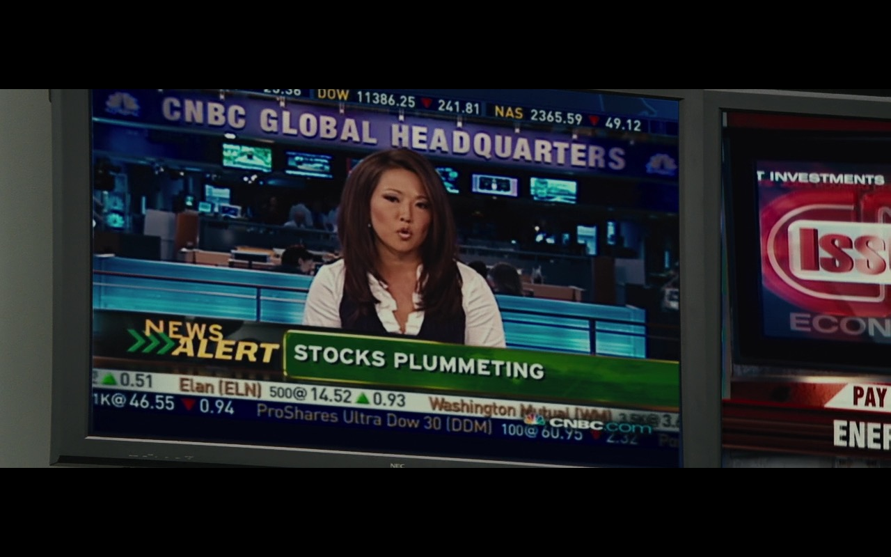 NEC TV and CNBC TV Channel – Wall Street: Money Never Sleeps (2010) - Movie Product Placement