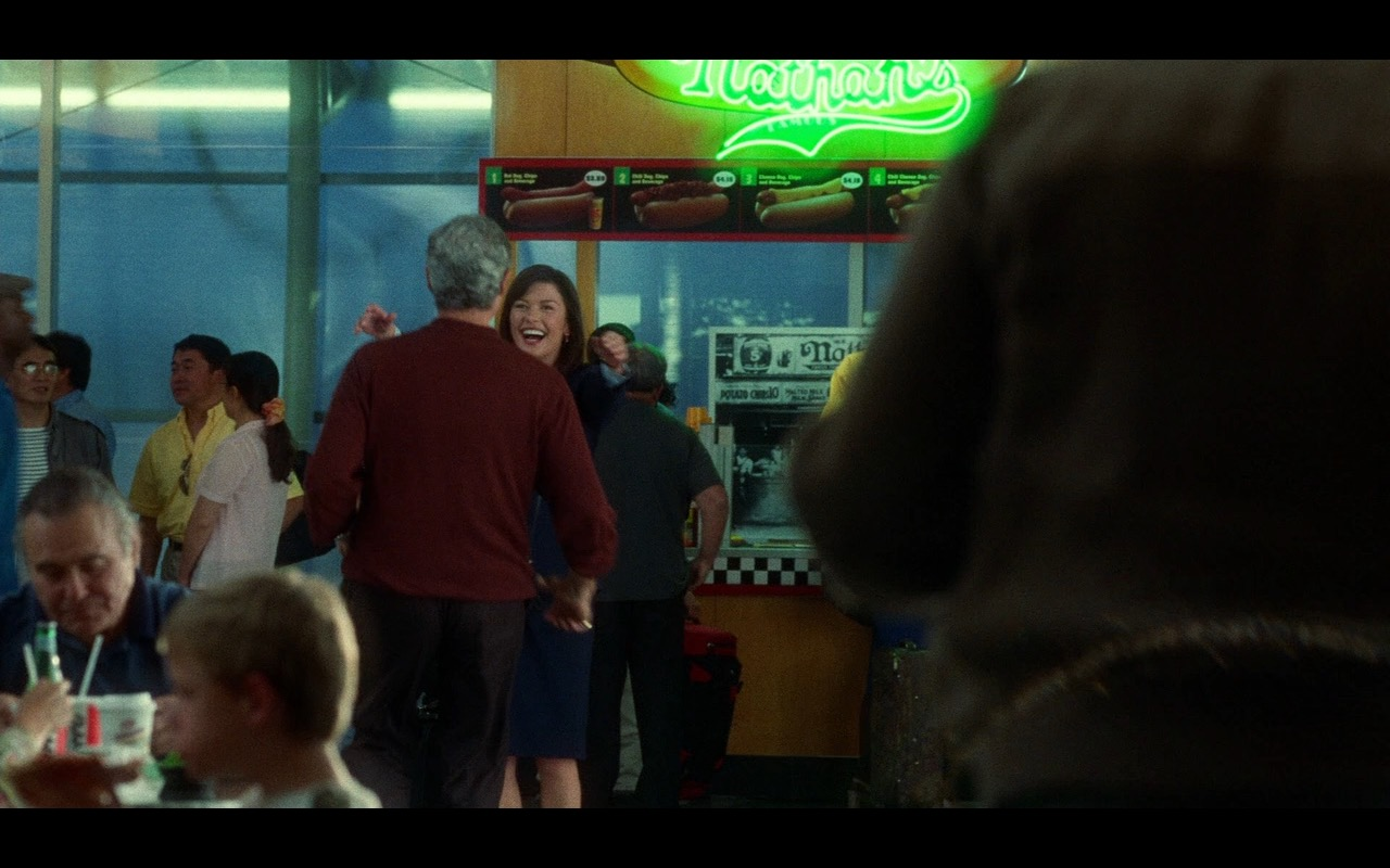 Nathan's Famous Hot Dog Restaurant – The Terminal (2004) Movie Product Placement