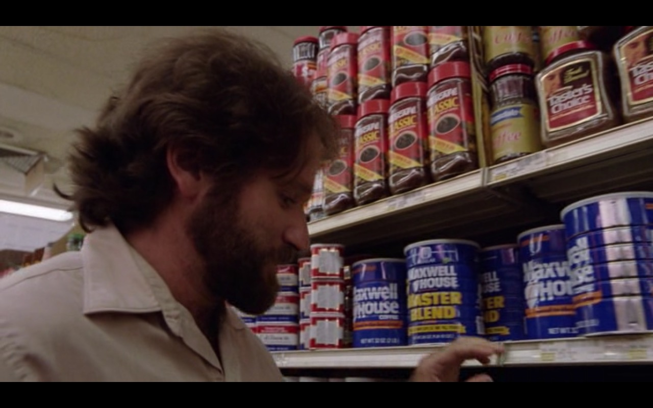 Nescafé, Maxwell House and Taster's Choice Coffee – Moscow on the Hudson (1984) Movie Product Placement